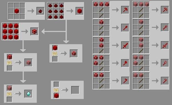 Redstone torch recipe